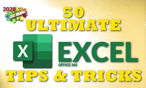 50 Tips for Excel in 2020