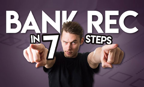 How To Do A Bank Reconciliation (EASY WAY)