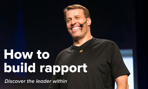 How to Build Rapport by Tony Robbins