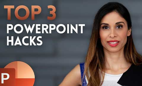 3 PowerPoint HACKS for INSTANT Improvement
