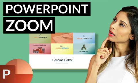 Use PowerPoint SLIDE ZOOM the RIGHT WAY